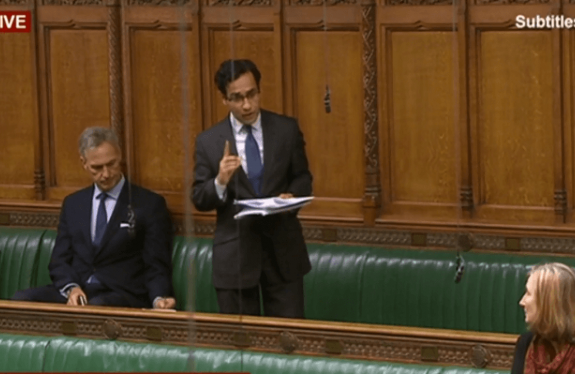 Rehman in the Chamber