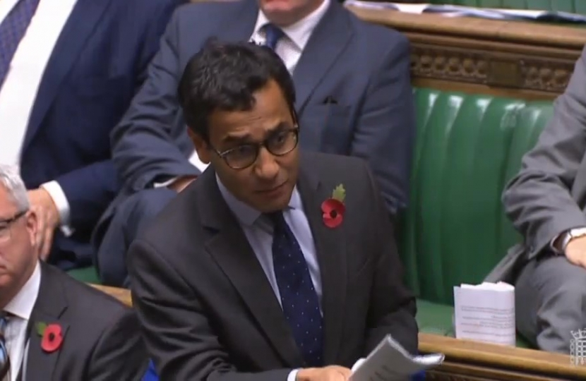 Rehman speaking in Parliament