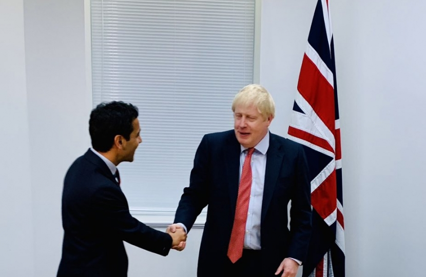 Rehman meeting Boris