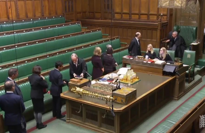Rehman swearing Oath in the Commons